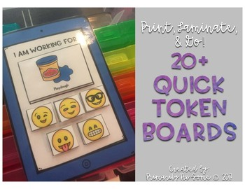Print, Laminate, and Go! 20+ Easy Token Boards