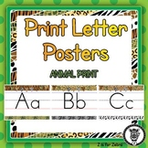 Print Letter Posters