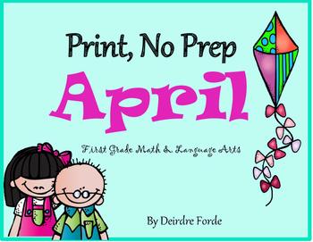 Print, No Prep April