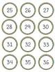 Print Numbers to 100 Rainbow