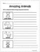 Print Packs - Amazing Animals - Lesson 22 Journeys Supplemental Resource