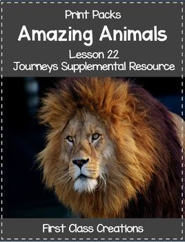 Print Packs - Lessons 21 - 30 Bundle Journeys Supplemental Resource