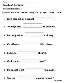 Print Packs - Let's Go To The Moon - Lesson 16 Journeys Supplemental Resource