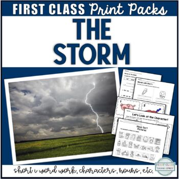 Print Packs - The Storm - Lesson 2 Journeys Supplemental Resource