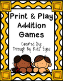 Print & Play: Addition Games