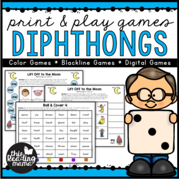 Print & Play Diphthong Games