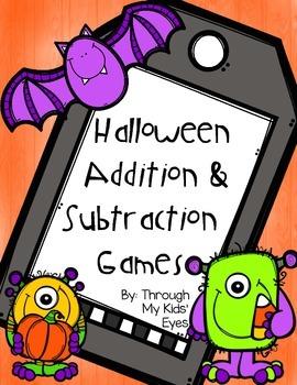 Print & Play: Halloween Math Games