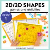 Print, Play, LEARN! 2D and 3D Shape Games