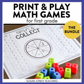 Print, Play, LEARN! Math Games Bundle