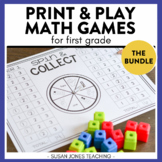 Math Games for 1st Grade: Print, Play, LEARN!