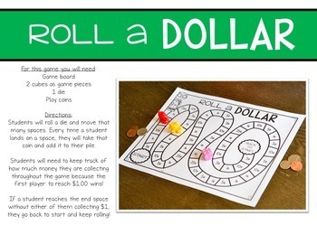 Print, Play, LEARN! Money Games