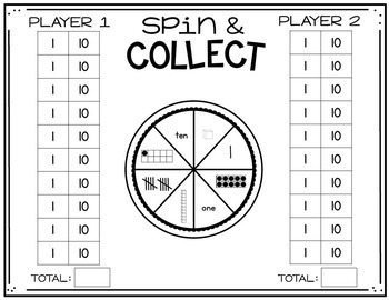 Print, Play, LEARN! Place Value Games
