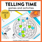 Print, Play, LEARN! Telling Time Games