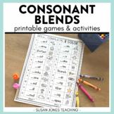 Print & Play Phonics Games - Consonant Blends