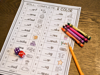 Print & Play Phonics Games - Consonant Blends