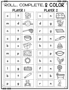 It is a graphic of Obsessed Printable Phonic Games