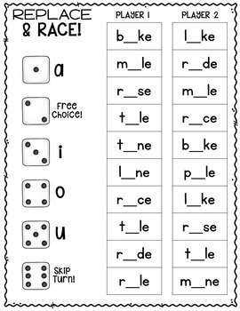 It's just a photo of Ambitious Printable Phonic Games