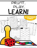 Print & Play Phonics Games - R Controlled Vowels