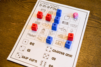 Print & Play Phonics Games - Vowel Teams