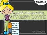Print & Practice Problem Solving - November