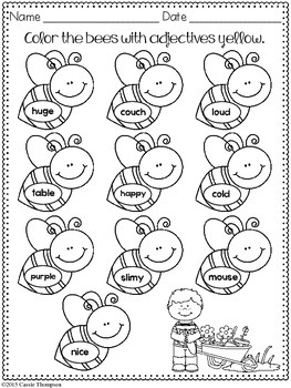 Print & Practice: Spring Math & Literacy
