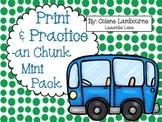Spelling Print & Practice -an Chunk Mini Pack