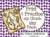 Spelling Print & Practice -ap chunk mini pack
