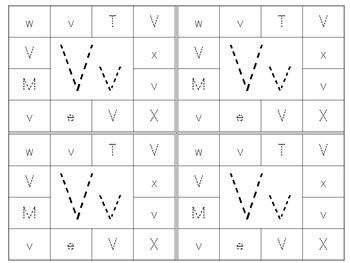 Print & Punch Alphabet Cards