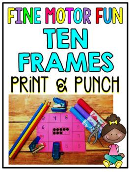 Print & Punch Ten Frames Cards