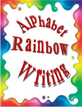 Print Rainbow Writing