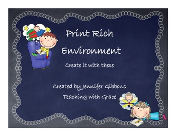 Print Rich Environment Cards