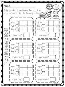 Print, Roll and Play Dice Activities (Fall Edition)
