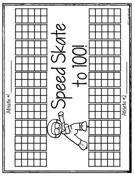 Print, Roll and Play Dice Activities (Winter Olympics Edition)
