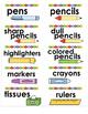 Print & Stick Classroom Supply Labels