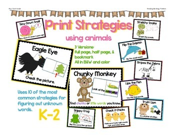 Print Strategy Posters