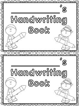 Print Style Handwriting Practice Book