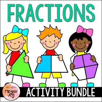 Fractions for Beginners Activity Bundle