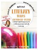 Print & Teach Literary Crossword Puzzles (Standard & Advan