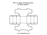 Print Then Create Your Own Car Figure