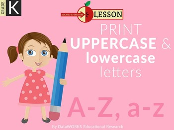Print Uppercase and Lowercase Letters