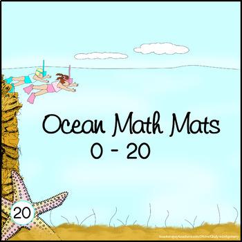 Print Your Own Ocean Math Mats 0 - 20