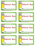 Print-Your-Own Transportation Cards