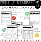 Nonstandard Measurement | MD 1.2 | No Prep Tasks | Assessment | Worksheets