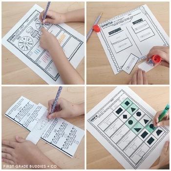Addition and Subtraction | OA 1.7 | No Prep Tasks | Assessment | Worksheets