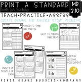 Print a Standard MD 2.10 {Picture and Bar Graphs} Activities + Assessments