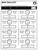 Telling Time | MD 2.7 | No Prep Tasks | Assessment | Worksheets