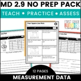 Print a Standard MD 2.9 {Measurement and Line Plots} Activities + Assessments