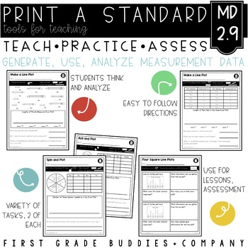 Measurement   MD 2.9   No Prep Tasks   Assessment   Worksheets