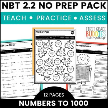 Print a Standard 2.NBT.2 {Counting / Skip Counting} No Prep Pack