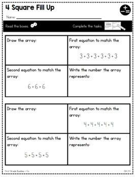 Print a Standard: 2nd GRADE BUNDLE! {No Prep Packs for All CC Math Standards}